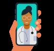 Telemedicine-Icon
